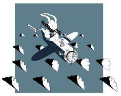 Illustrations by Andres Gomez, via Behance Spongebob, Sci Fi, Behance, Journey, Movie Posters, Movies, Illustrations, Art, Art Background