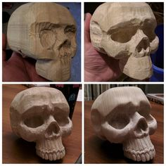 Pin by Chad Waguespack on sculpting Wood Carving Faces, Dremel Wood Carving, Wood Carving Patterns, Wood Carving Art, Carving Designs, Bone Carving, Whittling Patterns, Whittling Projects, Whittling Wood