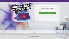 Win a Argos Gift Card. Competition for UK only 👍👍👍