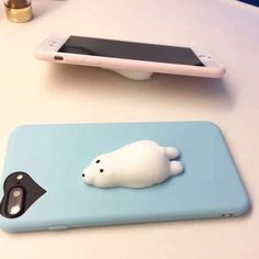 Mobile Phone Cases, DIY Accessories, Parts Cute Rabbit Cat, Silicone Gadgets, Squishy Fidget ,Hand Rising Animal, Squeeze Pinch Toy-in, Mobile Phone Holders & Stands from Cellphones & Telecommunications