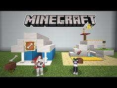 Gato Minecraft, Minecraft Dog House, Minecraft City, Minecraft Plans, Minecraft Creations, 3d Pixel, Minecraft Architecture, Magic City, Maine