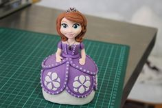 http://www.facebook.com/MardieMakesCakes Hiyas! Thanks for watching my first ever cake deco video; an accelerated filming of my hands making Sofia the First ...