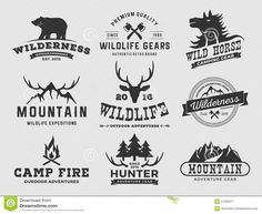 Adventure Clipart Outdoor Logo Royalty Free Stock Image Wilderness ...