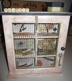 aLtErEd ArT HoUsE of HoUdiNi OOAK DeCoR by SauvageRavenCreation, $18.00
