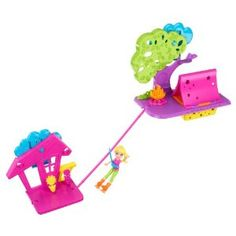 Polly Pocket Wall Party Camping Playset,$28.25