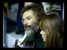 Quand Georges Moustaki chantait le Métèque à l'oreille de Françoise Hardy...