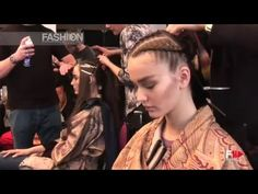 ETRO Autumn Winter 2011 2012 Backstage Woman Milan by Fashion Channel http://www.youtube.com/watch?v=JrjVueQOKAM #FashionChannel