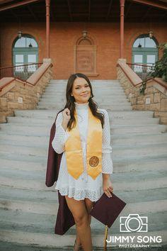 Dec 2018 - Arizona State University ASU Grad Graduation Pictures in Tempe Arizona Nursing Graduation Pictures, Graduation Picture Poses, College Senior Pictures, College Graduation Pictures, Graduation Portraits, Graduation Photoshoot, Graduation Photography, Grad Pics, Grad Pictures