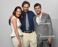 Bree Turner, Silas Weir Mitchell, and David Giuntoli--Grimm