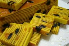 Lapis Legit  a kind of cake that is cooked with cinnamon spice and flavor blend is added according to taste