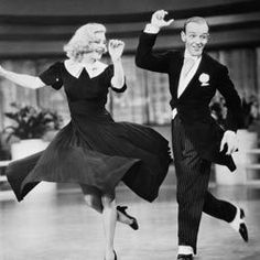 Fred Astaire and Ginger Rogers performed together in 10 films from 1933 to 1949.