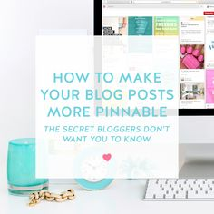 How To Make Your Blog Posts More Pinnable — The Secret Bloggers Don't Want You To Know | As a blogger, we're always looking for new ways to share our content and make our blog posts more pinnable. Because you know it's all about that pin!! ;) And I recently discovered a trick that I think EVERY blogger should know!!