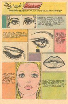 1969 makeup tips