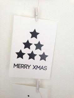 Helppo joulukortti