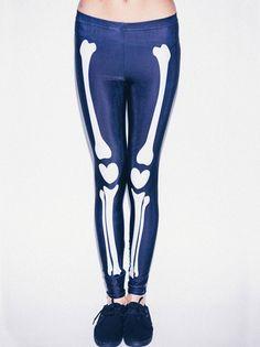 Drop Dead Lovely Bones Leggings #DDXMASWISHLIST