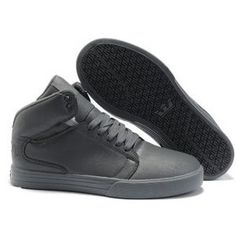 Supra Shoes Tumblr Society Mid Top Patent Leather Gray