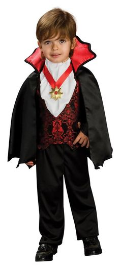 Take a look at this Transylvanian Vampire Dress-Up Set - Toddler by Rubie's on today! Baby Vampire Costume, Vampire Dress Up, Vampire Boy, Vampire Costumes, Halloween Costumes Party City, Halloween Costumes For Teens, Halloween Fancy Dress, Costumes Kids, Halloween Ideas