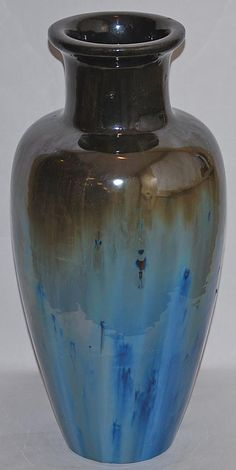 Fulper Pottery Chinese Blue Flambe Vase $595