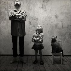 What Does Love Look Like? For Photographer Andy Prokh, It's His Daughter and Her Cat