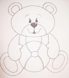 Pintura em Tecido ,Dicas, Materiais e Passo a Passo: Risco para Pinturas Desenhos Infantis
