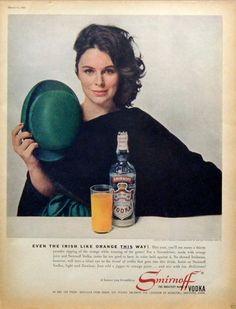 Smirnoff #vodka #stpatricksday 1961