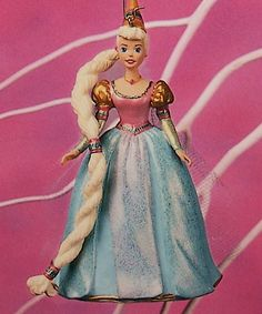 Hallmark 1997 Childrens Collector Barbie #1 - Rapunzel