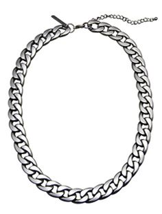 Undefeated Necklace (Gunmetal)