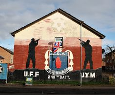 just one of many Murals in the city of Belfast - I'm on a hunt to find them all!