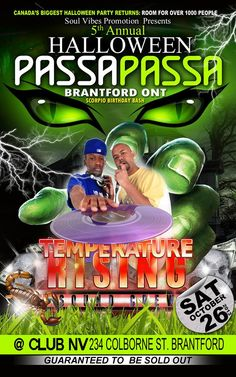 Passa Passa Oct 26th, CLUB NV