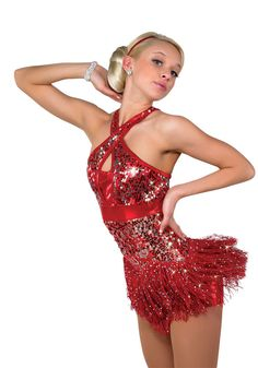Adult Medium Red Jazz Costume A Wish Comes True | eBay