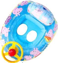 Make it a Peppa Pig Pool Party >> Peppa Pig Swimming Float