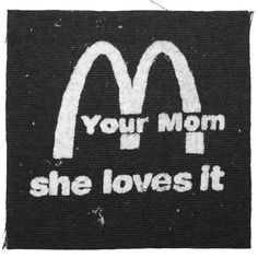 AMIETE CLOTHING YOUR MOM LOVES IT PATCH