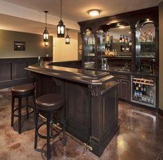 awesome bar basement 3 I want a kickass bar in my basement. & 224 best Bar Back images on Pinterest | Bar counter Cafe interiors ...