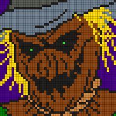 Scarecrow Perler Bead Pattern / Bead Sprite