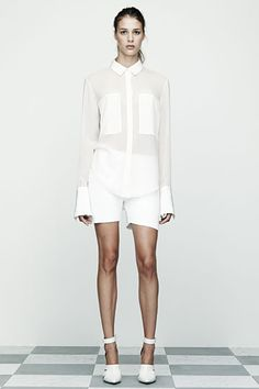 White button downs are the foundation of my look.