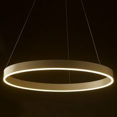 LED circle pendant is an aluminium and acrylic pendant that would suit a feature light situation.
