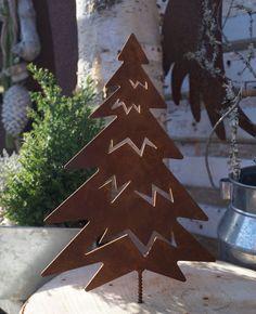 Edelrost Tanne groß mit Schraubgewinde Garten Holz Bausatz Metall Weihnachten | Garten & Terrasse, Dekoration, Gartenfiguren & -skulpturen | eBay!