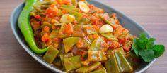 Lubia bi zeit- Gröna bönor i tomatsås