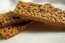 Gluten free energy Bar Recipe-nut butter,honey or agave , nuts &/or seeds, dried fruit, GF rice cereal, vanilla, salt