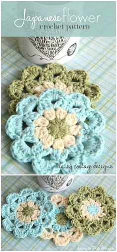 Crochet Coasters Set