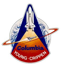 STS 1 Mission patch - Maiden flight of Columbia