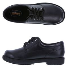 Women's Slip Resistant  Deidre Oxford, Black, hi-res
