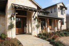 Texas Hill Country house - craftsman - Exterior - Other Metro - Craftsman Builders, Inc.