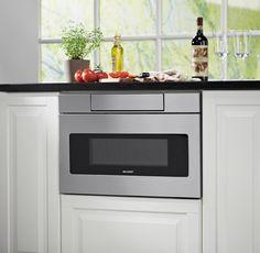 New Sharp microwave drawer