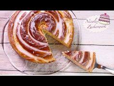 XL Puddingschnecke | Hefeschnecke | süßes Hefegebäck von Nicoles Zuckerwerk