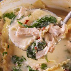 Pasta Recipes, Crockpot Recipes, Soup Recipes, Chicken Recipes, Cooking Recipes, Healthy Recipes, Cooking Eggs, Lasagna Recipes, Cooking Oil