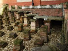 Old Roman baths Wigan...