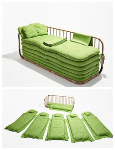 I like this for a spare room or for small apartment as extra bedding for guests~