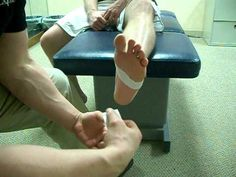 Plantar Fascitis Taping Technique