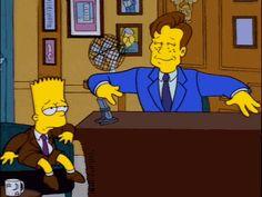 Bart on Conan
